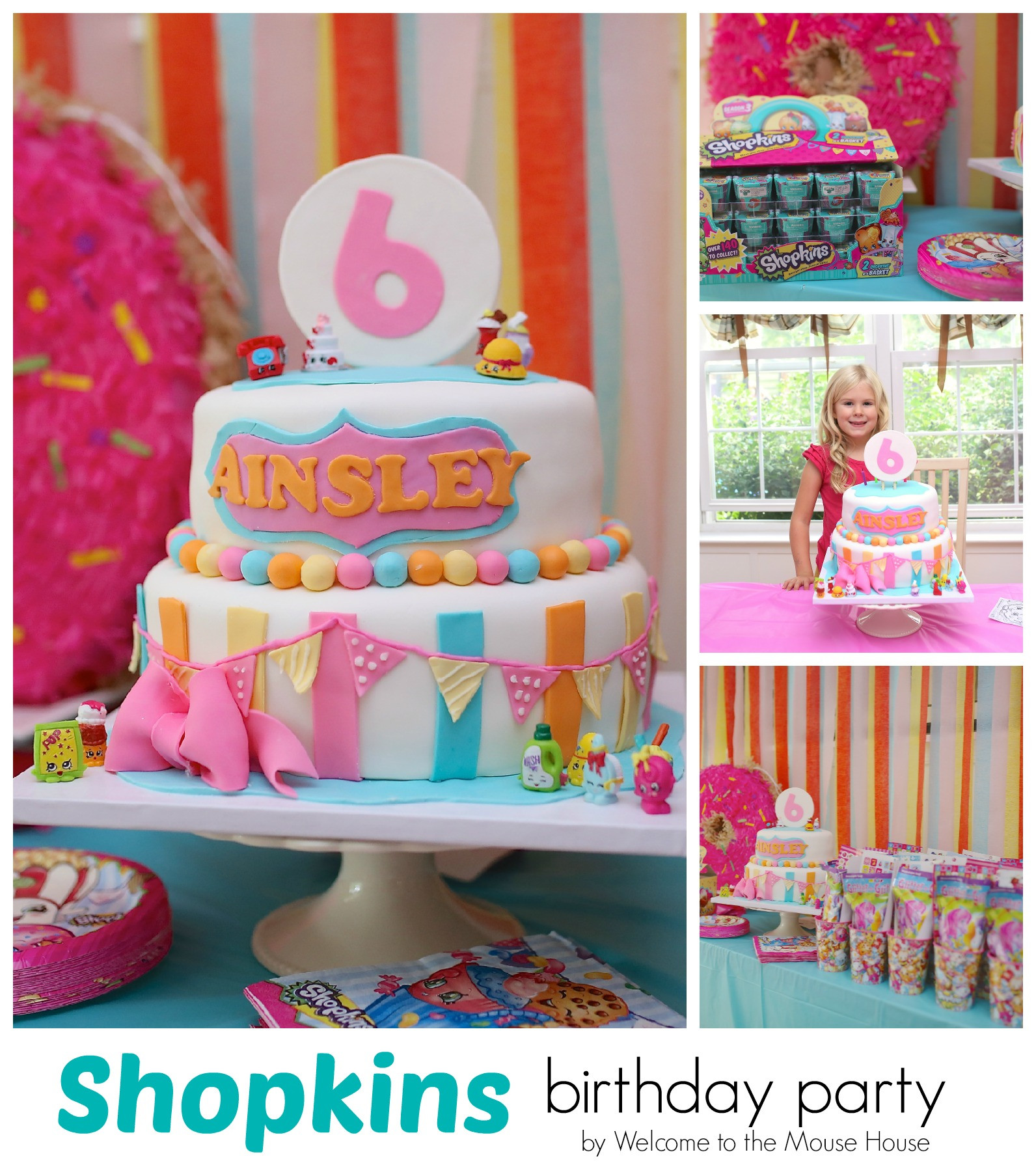 Best ideas about Shopkins Birthday Decorations . Save or Pin Shopkins Birthday Party Now.