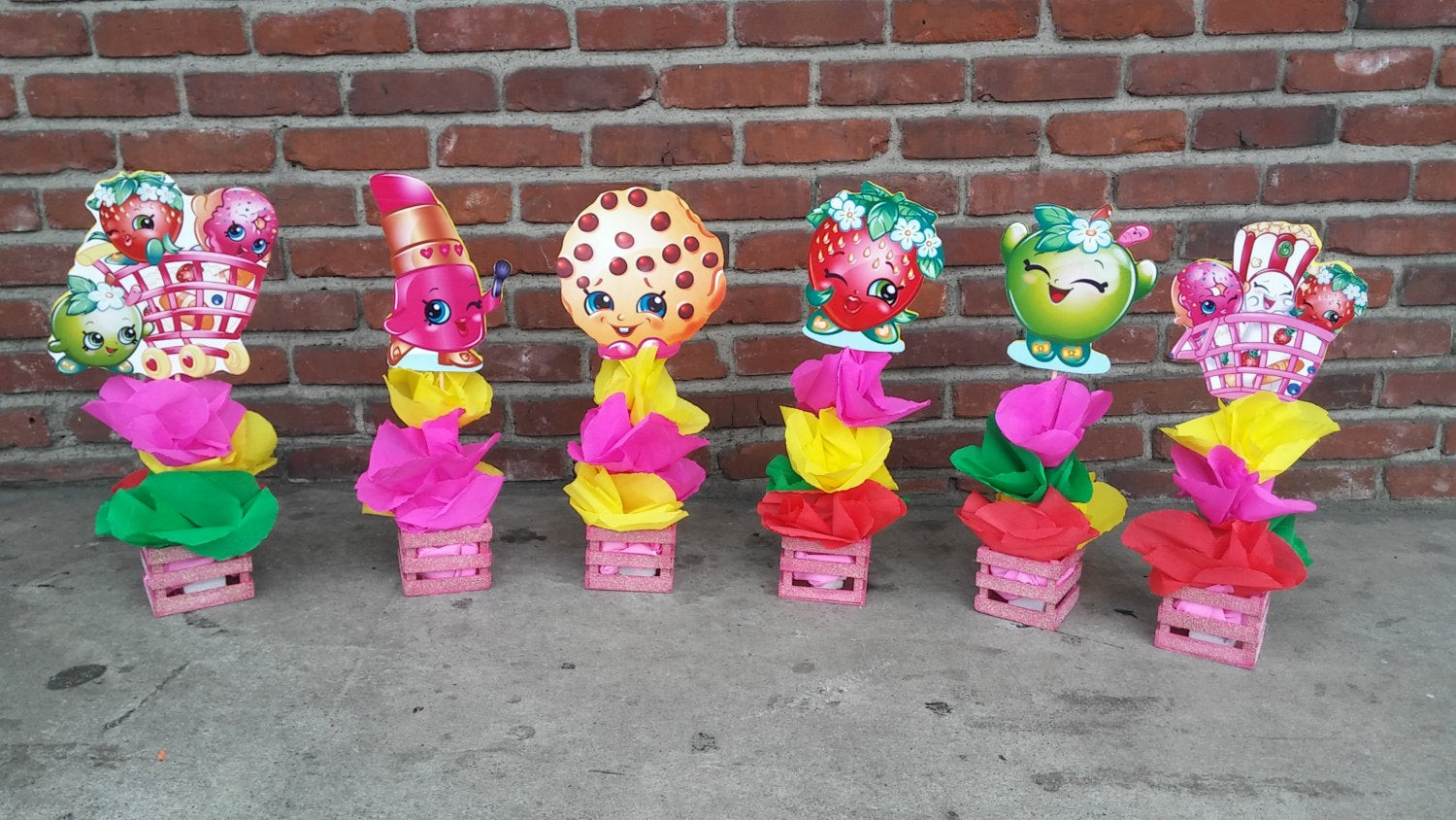 Best ideas about Shopkins Birthday Decorations . Save or Pin Shopkins Birthday Party Wood centerpiece Party favor Great for Now.