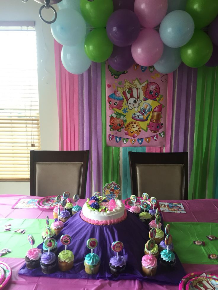 Best ideas about Shopkins Birthday Decorations . Save or Pin Shopkins party decorations Shopkins party Now.