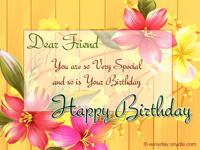 Best ideas about Short And Sweet Birthday Wishes . Save or Pin Birthday Wishes for Friend Easyday Now.