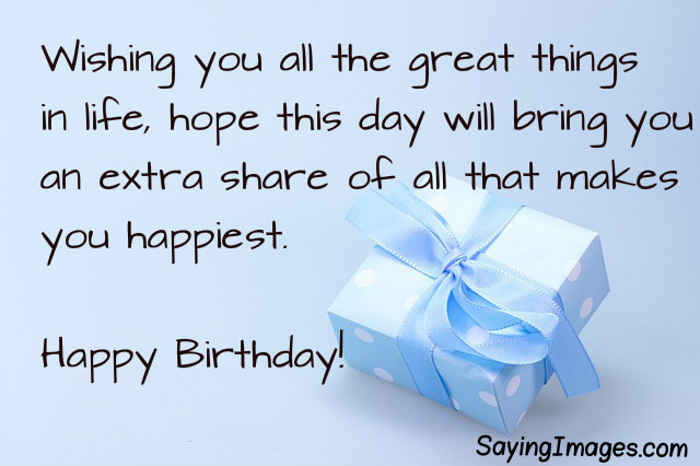 Best ideas about Short And Sweet Birthday Wishes . Save or Pin Birthday Wishes Messages Now.