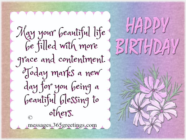 Best ideas about Short And Sweet Birthday Wishes . Save or Pin Sweet Birthday Messages 365greetings Now.