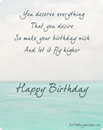 Best ideas about Short Birthday Quotes . Save or Pin Happy Birthday Poems For Friends Now.