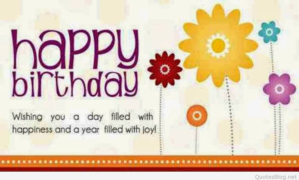 Best ideas about Short Birthday Quotes . Save or Pin Short happy birthday wishes 2015 Now.