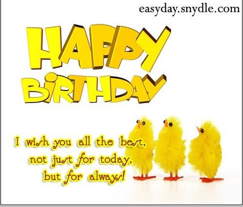 Best ideas about Short Birthday Wishes . Save or Pin 45 best Birthday cards for images on Pinterest Now.
