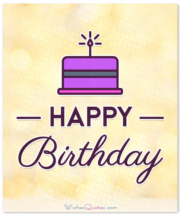 Best ideas about Short Birthday Wishes . Save or Pin Simple and Short Birthday Wishes With – WishesQuotes Now.