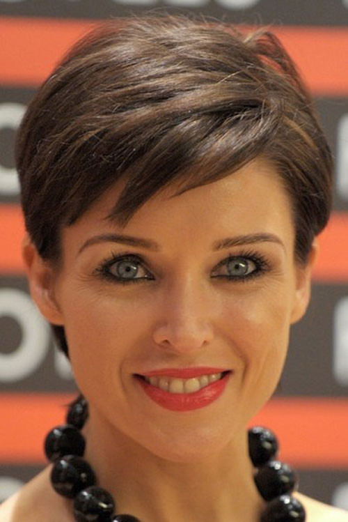 Best ideas about Short Celeb Haircuts . Save or Pin 20 Celebrity hairstyles for short hair 2012 2013 Now.