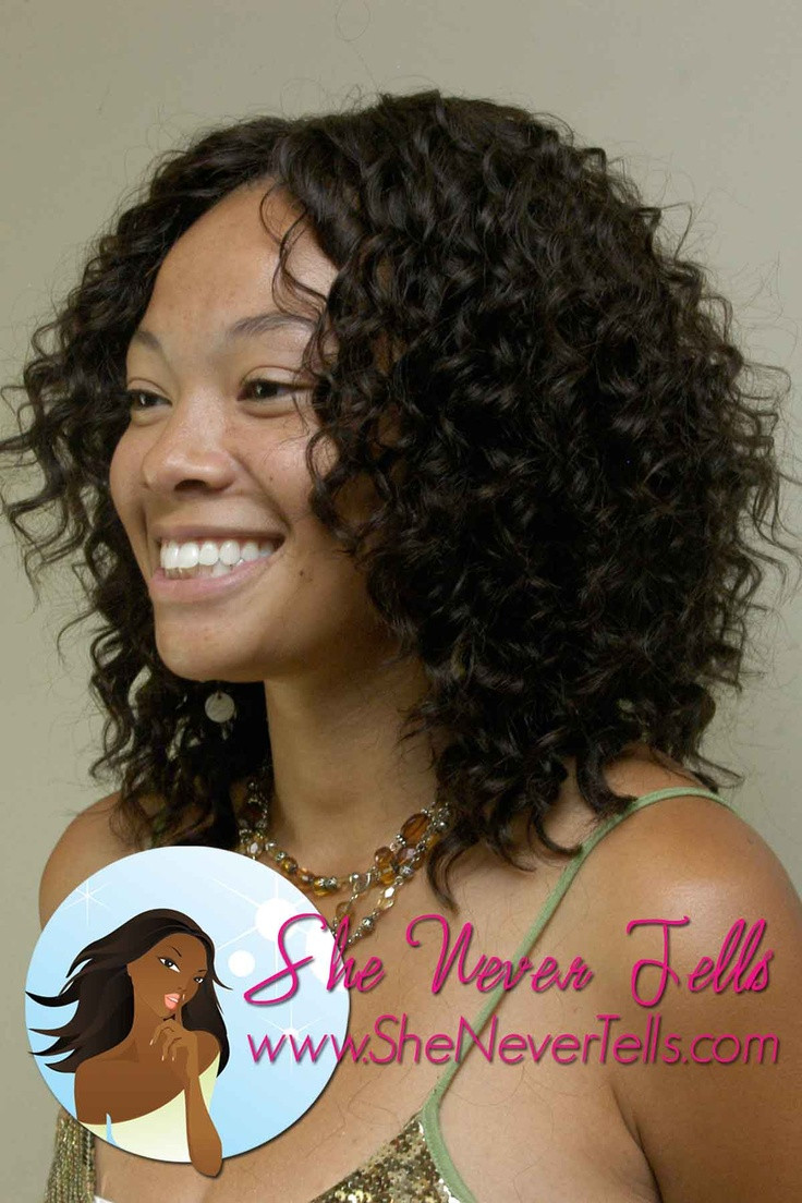 Best ideas about Short Curly Sew In Weave Hairstyles . Save or Pin 17 Best images about medium length hairstyles on Pinterest Now.