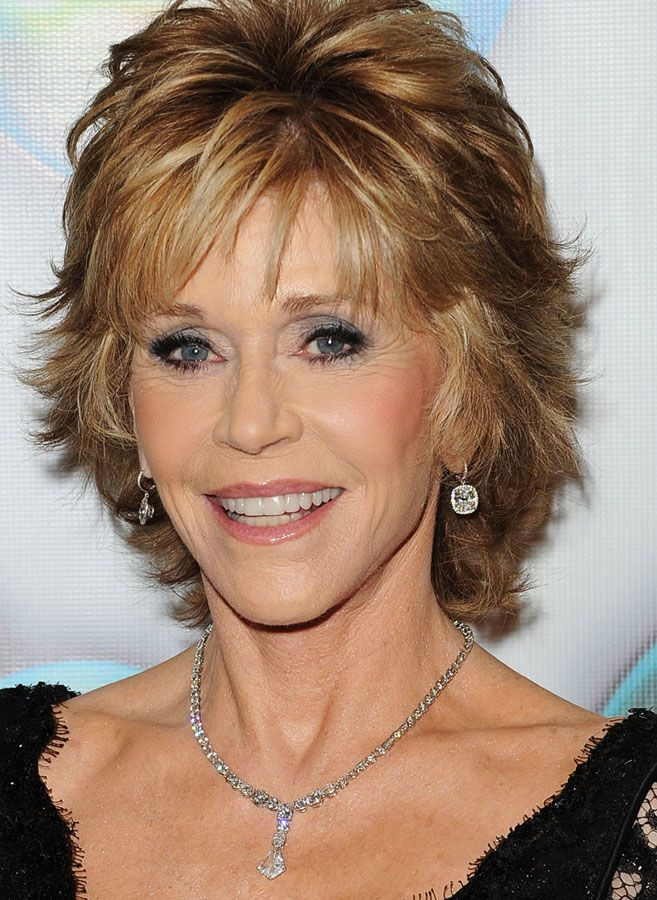 Best ideas about Short Flippy Haircuts . Save or Pin Jane Fonda Shag Hairstyles Now.
