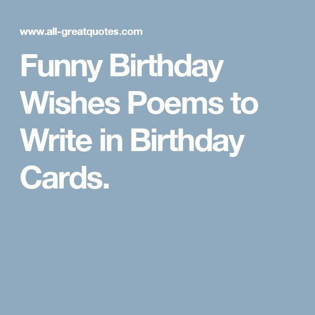Best ideas about Short Funny Birthday Wishes . Save or Pin Best 25 Birthday wishes poems ideas on Pinterest Now.