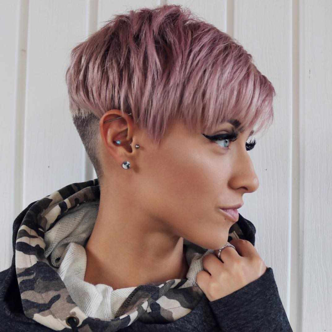 Best ideas about Short Haircuts For Girls 2019 . Save or Pin 60 Short Hairstyles For Round Faces 2018 2019 Hairstyle Now.