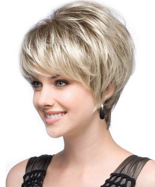 Best ideas about Short Haircuts For Round Faces And Thin Hair . Save or Pin Best and Cute Haircut for Round Faces and Thin Hair of Now.