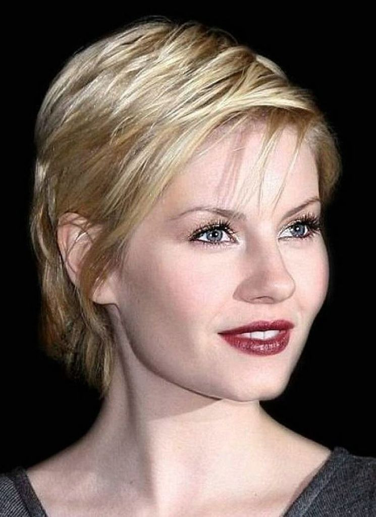 Best ideas about Short Haircuts For Round Faces And Thin Hair . Save or Pin 43 Short Hairstyles For Round Faces Inspiration MagMent Now.