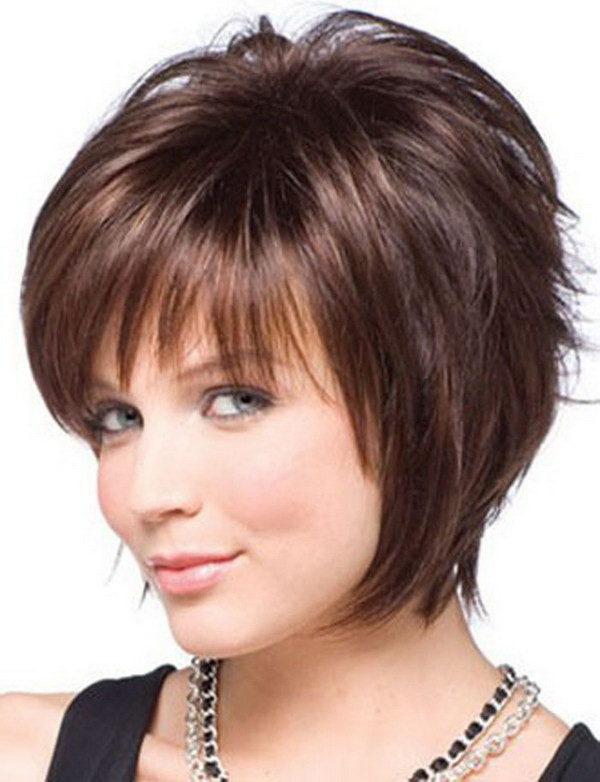 Best ideas about Short Haircuts For Round Faces And Thin Hair . Save or Pin 25 Beautiful Short Haircuts for Round Faces 2017 Now.