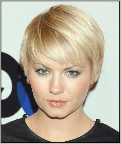 Best ideas about Short Haircuts For Round Faces . Save or Pin 20 Short Hair for Round Faces Now.