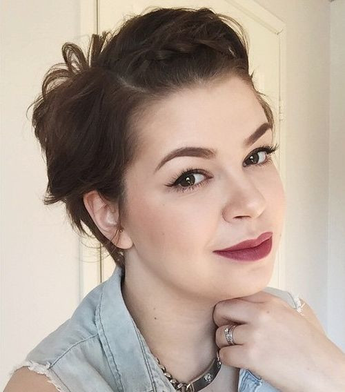 Best ideas about Short Haircuts For Round Faces . Save or Pin 40 Cute Looks with Short Hairstyles for Round Faces Now.
