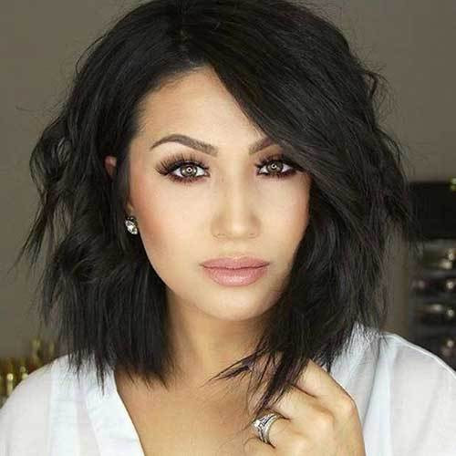 Best ideas about Short Haircuts For Round Faces . Save or Pin 18 Fresh Layered Short Hairstyles for Round Faces crazyforus Now.