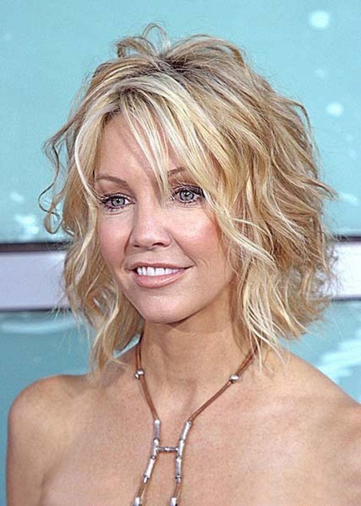 Best ideas about Short Haircuts For Thinning Curly Hair . Save or Pin Short Shaggy Bob on Pinterest Now.