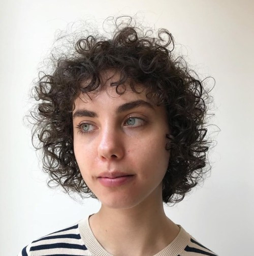 Best ideas about Short Haircuts For Thinning Curly Hair . Save or Pin 20 Chicest Hairstyles for Thin Curly Hair – The Right Now.