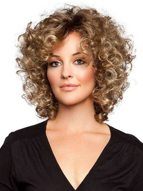 Best ideas about Short Haircuts For Thinning Curly Hair . Save or Pin 25 Short and Curly Hairstyles Now.