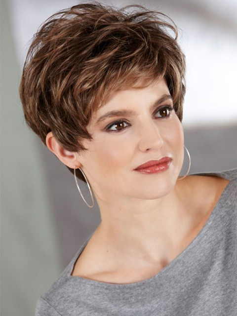 Best ideas about Short Haircuts For Thinning Curly Hair . Save or Pin 15 Tremendous Short Hairstyles for Thin Hair – Now.