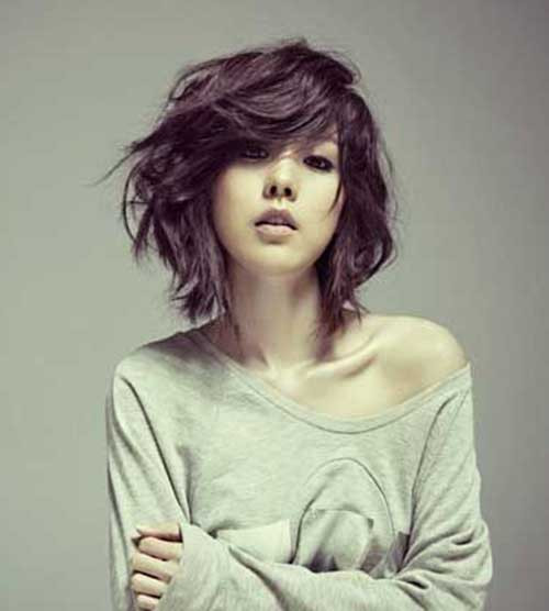 Best ideas about Short Haircuts For Wavy Hair . Save or Pin 15 Short Haircuts for Thick Wavy Hair Now.
