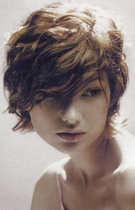 Best ideas about Short Haircuts For Wavy Hair . Save or Pin Short messy curly hairstyles Now.