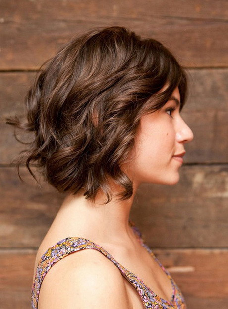 Best ideas about Short Haircuts For Wavy Hair . Save or Pin Short hairstyles for fine curly hair Now.