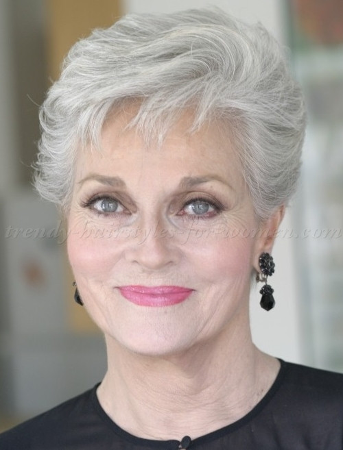 Best ideas about Short Haircuts For Women Over 60 . Save or Pin Short Hairstyles for Women Over 60 as the Amazing Style Now.