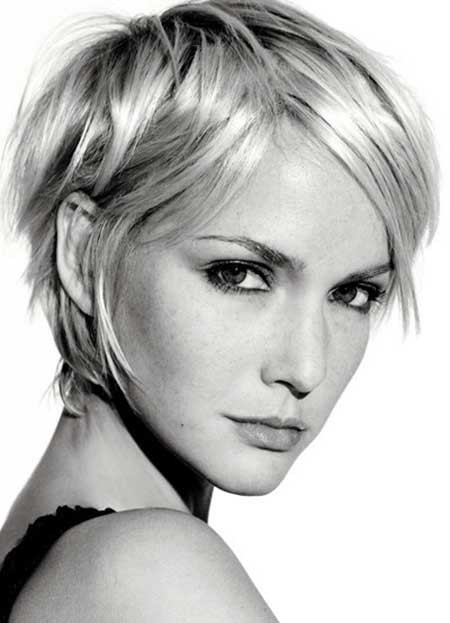 Best ideas about Short Haircuts Straight Hair . Save or Pin 20 Short Hairstyles for Straight Hair Now.