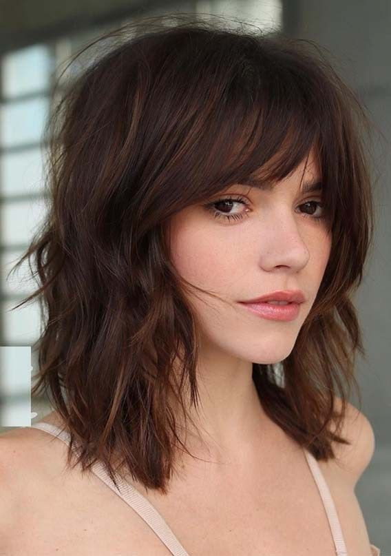 Best ideas about Short Haircuts With Bangs 2019 . Save or Pin Ridiculous Medium Length Haircuts with Bangs in 2019 Now.