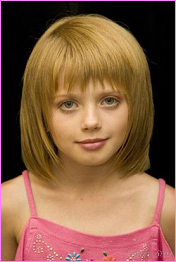 Best ideas about Short Hairstyles For Little Girls . Save or Pin Little girl haircuts with bangs StylesStar Now.