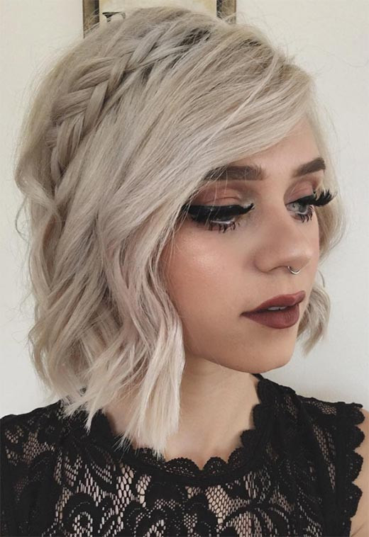 Best ideas about Short Hairstyles For Short Hair . Save or Pin 51 Cute Braids for Short Hair Short Braided Hairstyles Now.