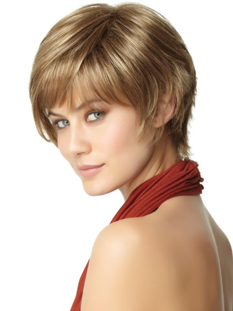 Best ideas about Short Hairstyles For Thick Hair Round Face . Save or Pin 16 Easy Short haircuts for Thick Hair Now.