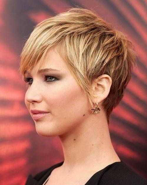 Best ideas about Short Hairstyles For Thick Hair Round Face . Save or Pin 2019 Latest Short Hairstyles For Heavy Round Faces Now.