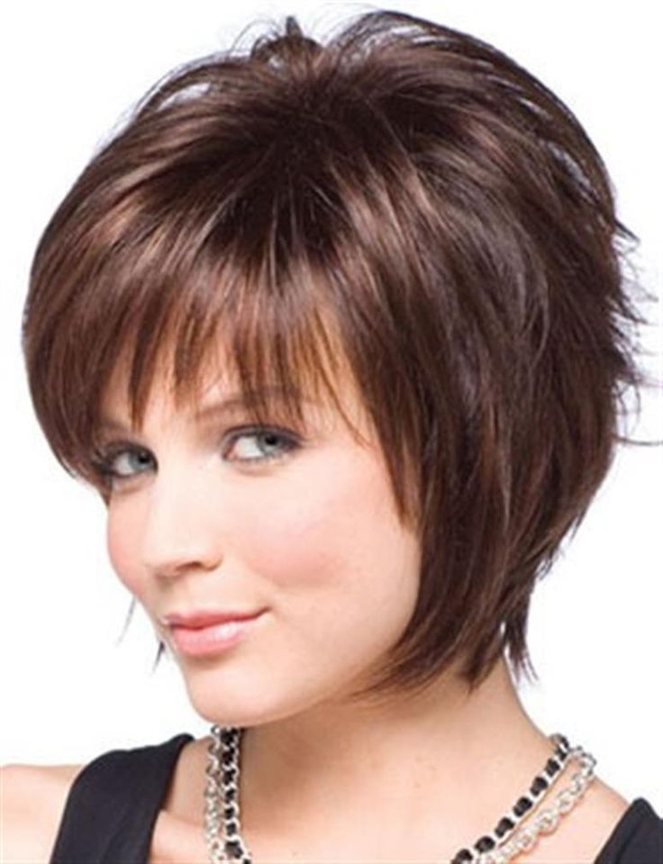 Best ideas about Short Hairstyles For Thick Hair Round Face . Save or Pin Short Haircuts For Round Faces And Thick Hair Now.