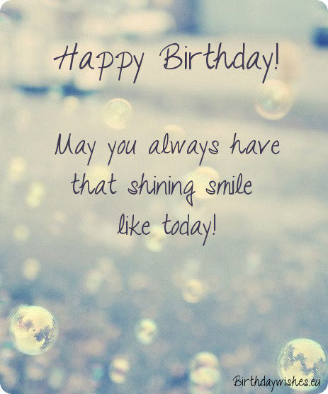 Best ideas about Short Happy Birthday Wishes . Save or Pin Short Birthday Wishes And Messages Now.