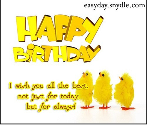 Best ideas about Short Happy Birthday Wishes . Save or Pin free greeting cards online greeting cards funny greeting Now.
