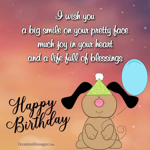 Best ideas about Short Happy Birthday Wishes . Save or Pin Short Birthday Wishes and Messages Occasions Messages Now.
