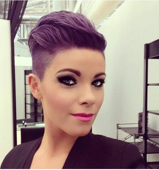 Best ideas about Short Purple Hairstyles . Save or Pin 25 Best Ideas about Short Purple Hair on Pinterest Now.