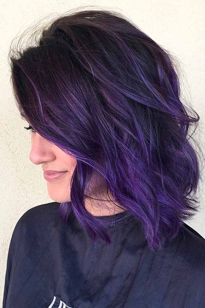 Best ideas about Short Purple Hairstyles . Save or Pin 30 Cute Hair Color Ideas for Short Hair in 2017 Now.