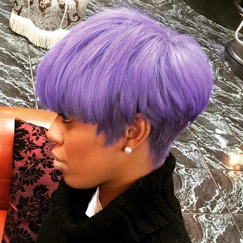 Best ideas about Short Purple Hairstyles . Save or Pin 60 Great Short Hairstyles for Black Women – TheRightHairstyles Now.