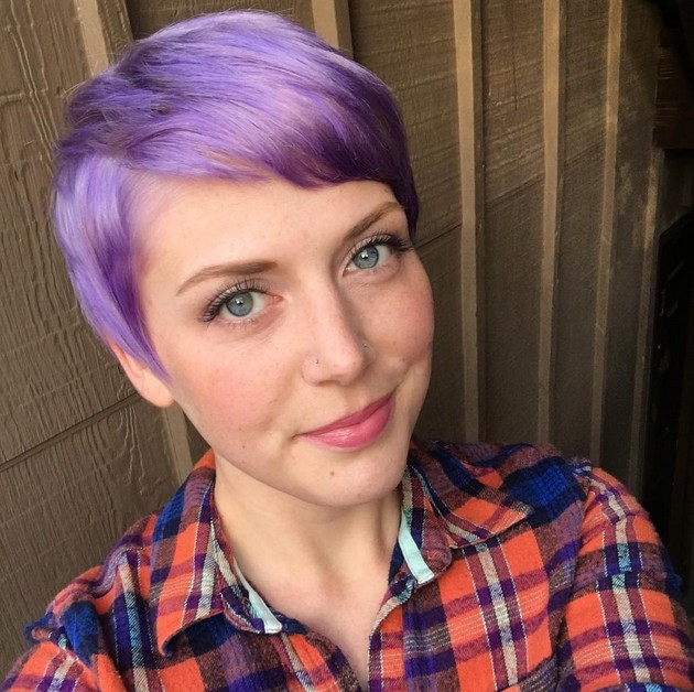 Best ideas about Short Purple Hairstyles . Save or Pin 21 Gorgeous Pastel Purple Hairstyles Pretty Designs Now.