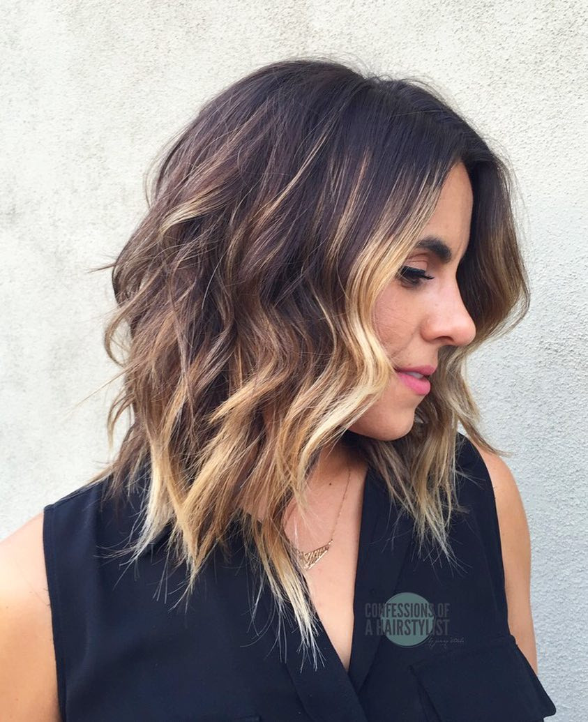 Best ideas about Shoulder Length Haircuts For Girls . Save or Pin 10 Wavy Shoulder Length Hairstyles 2019 Now.