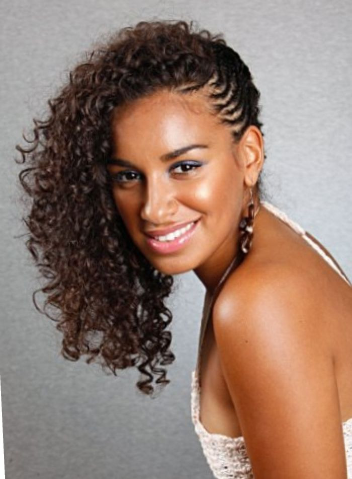 Best ideas about Side Braid Hairstyles For Black Hair . Save or Pin Natural Hairstyles For Black Women Long Curly Hair Braided Now.
