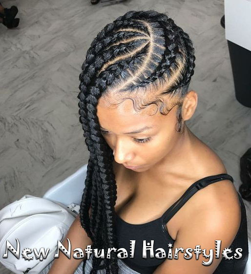 Best ideas about Side Braid Hairstyles For Black Hair . Save or Pin 10 Lovely Braided Hairstyles for Black Women to Wear Now.