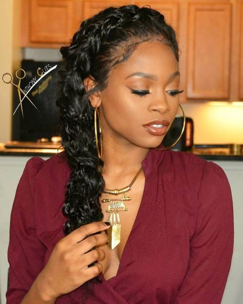 Best ideas about Side Braid Hairstyles For Black Hair . Save or Pin 40 Black Braided Hairstyles Now.