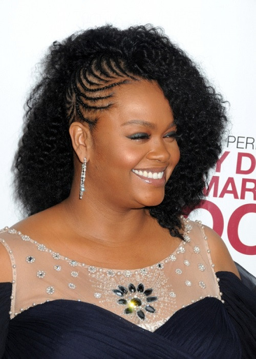 Best ideas about Side Braid Hairstyles For Black Hair . Save or Pin African American Hairstyles Trends and Ideas Braids Now.