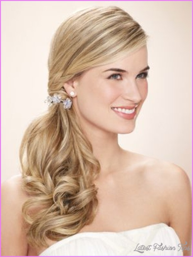 Best ideas about Side Prom Hairstyles . Save or Pin Prom hairstyles side ponytail LatestFashionTips Now.