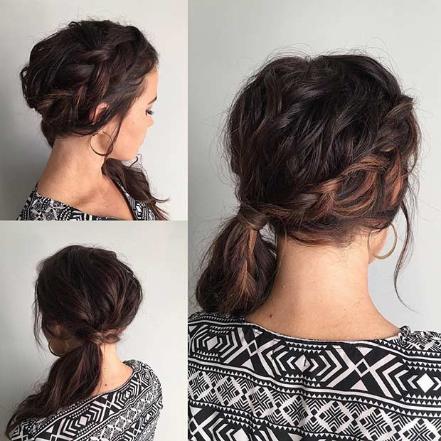 Best ideas about Side Prom Hairstyles . Save or Pin 21 Pretty Side Swept Hairstyles for Prom Now.